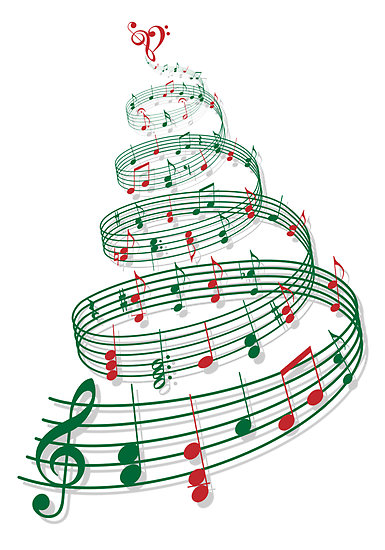 Christmas Tree Set To Music : Triangle events magical musicals access office business